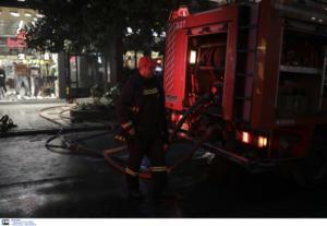 Ηράκλειο: Στις φλόγες φορτηγά ψυγεία στις Μοίρες!
