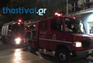 Φωτιά σε σπίτι στην Αγία Τριάδα Θεσσαλονίκης