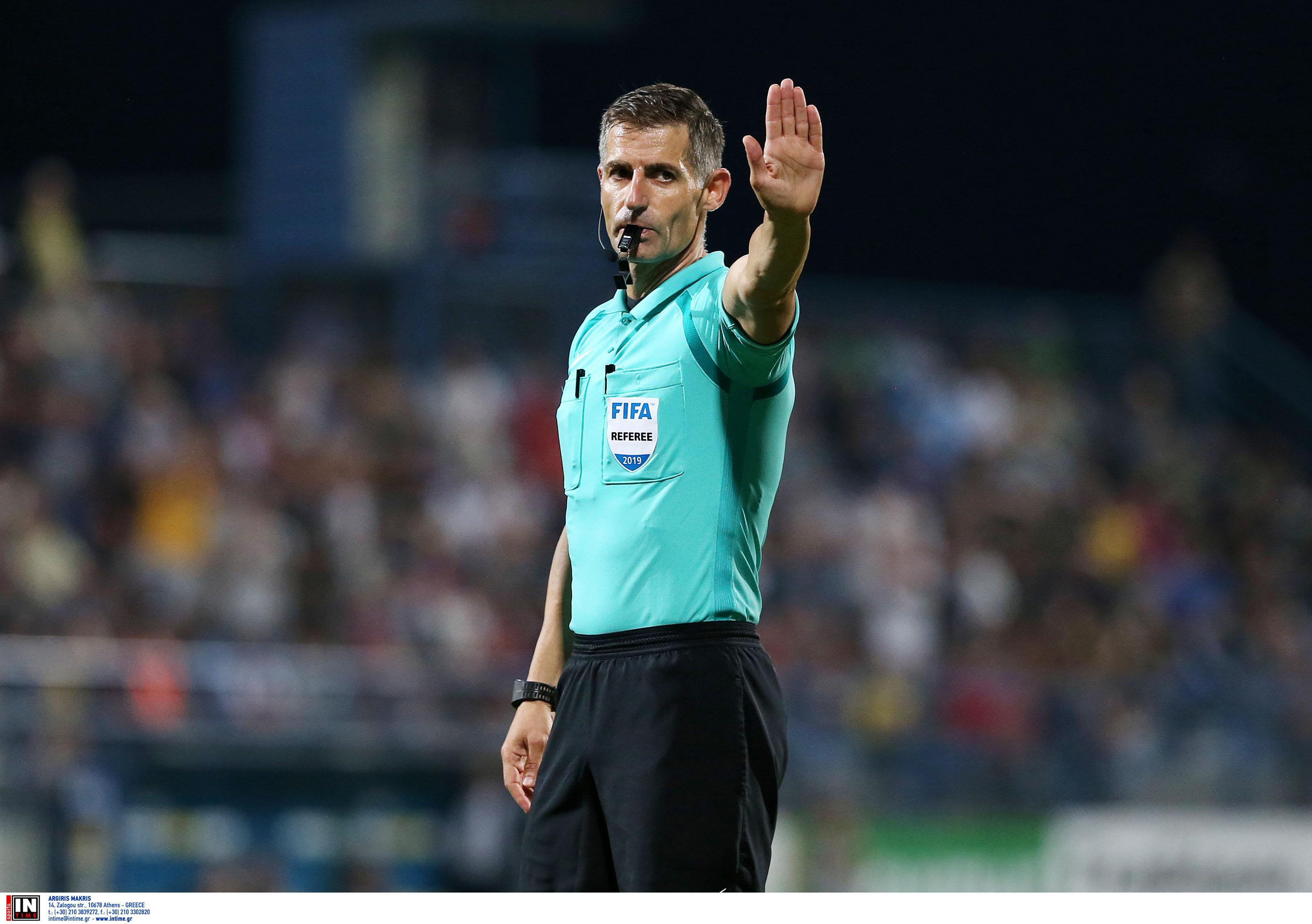 """Nations League: """"Σφυρίζει"""" ματς της πρώτης κατηγορίας ο Σιδηρόπουλος"""