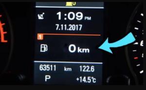 Πόσα χιλιόμετρα μπορείς να κάνεις με άδειο ρεζερβουάρ σου [vid]