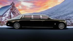 Μια θωρακισμένη Rolls-Royce Phantom μήκους 7 μέτρων! [pics]
