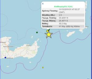 Κρήτη: Απανωτοί μετασεισμοί μετά τον σεισμό των 5,3 Ρίχτερ