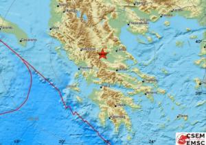 Σεισμός κοντά στα Τρίκαλα!