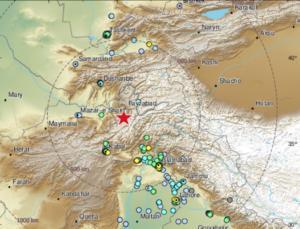 Σεισμός σε Πακιστάν, Αφγανιστάν και Ινδία!