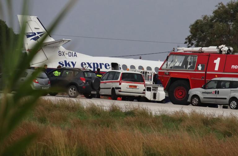 """Οι επιβάτες """"πήγαν κι ήρθαν"""" αλλά η Sky Express τα βλέπει όλα ιδανικά!"""