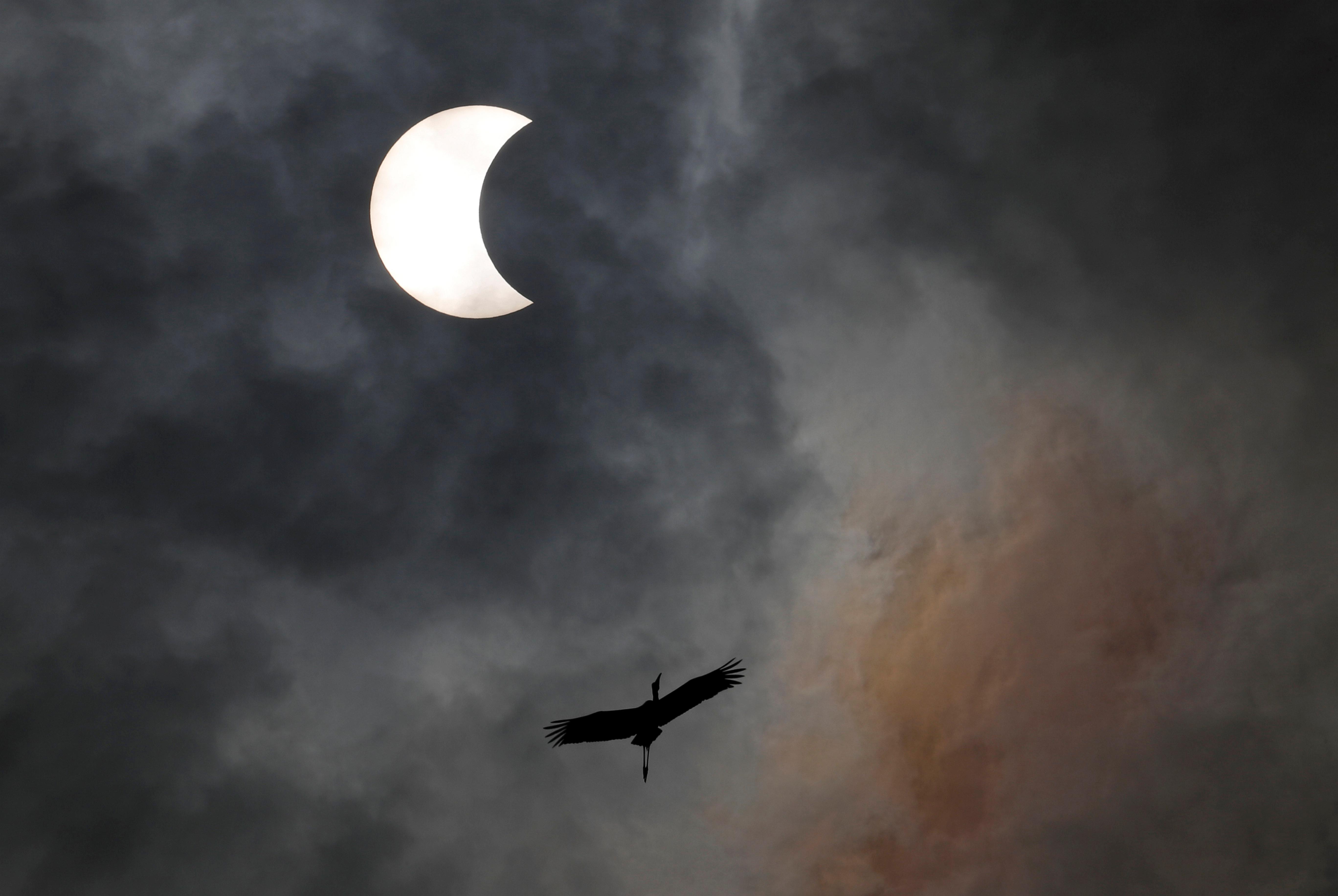 """Η τρίτη και τελευταία έκλειψη ηλίου του 2019 - Εντυπωσιακές εικόνες από το """"δαχτυλίδι της φωτιάς"""""""