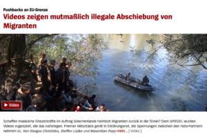 Το Spiegel υιοθετεί την τουρκική προπαγάνδα για τους πρόσφυγες στον Έβρο!