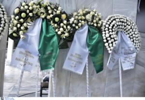 Θάνος Μικρούτσικος: Στεφάνια του Παναθηναϊκού στην κηδεία! pics