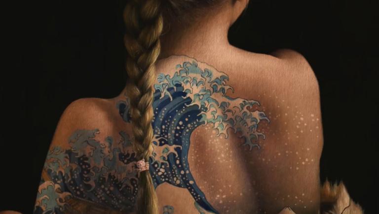 Τατουάζ; Όχι, είναι πίνακες ζωγραφικής! video