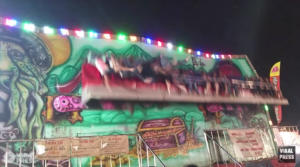 """Ταϊλάνδη: Τα video του τρόμου! """"Εκτοξεύτηκαν"""" από περιστρεφόμενο παιχνίδι! video"""