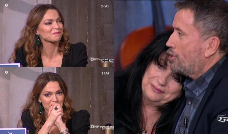 """Συγκινητικές στιγμές στην εκπομπή του Παπαδόπουλου! """"Λύγισαν"""" Άννα Βαγενά και Κατερίνα Θεοχάρη"""