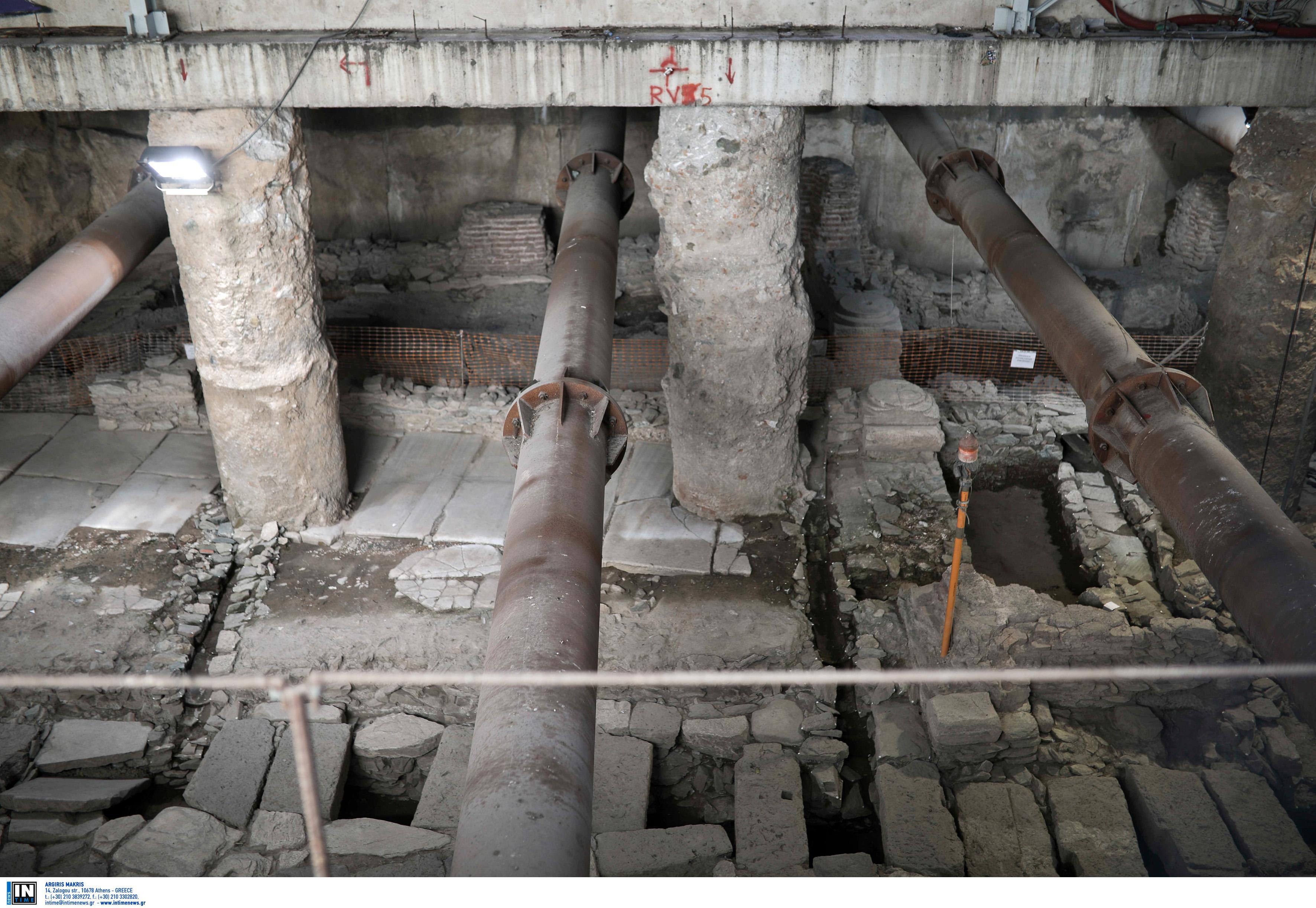 Μετρό Θεσσαλονίκης: Ναι από το ΚΑΣ για τη μεταφορά των αρχαιοτήτων από τη Βενιζέλου