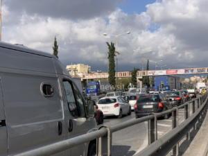 Απίστευτο τροχαίο στην Εθνική οδό