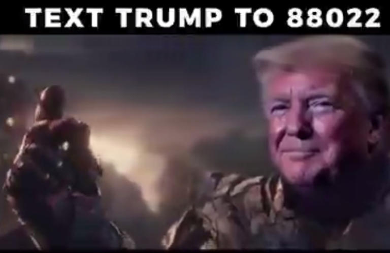 Τραμπ σαν να λέμε… Thanos! Προεκλογικό βίντεο σκέτος τραγέλαφος [video]