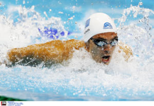 Απίθανος ο Βαζαίος! Κέρδισε το χρυσό μετάλλιο στα 200μ. πεταλούδα