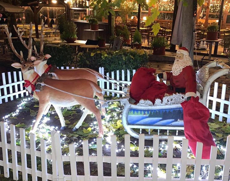 """Τα """"Ξύλινα"""" Καισαριανής μπαίνουν σε χριστουγεννιάτικο κλίμα!"""