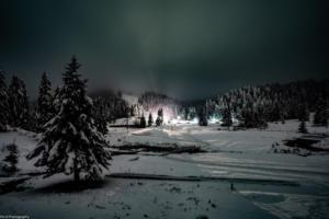 """Περτούλι: Χιόνι, πανσέληνος και… """"Βόρειο Σέλας"""" [pics]"""