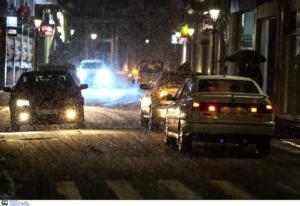 Καιρός ΤΩΡΑ: Ποιοι δρόμοι είναι κλειστοί – Που χιονίζει τώρα, που χρειάζονται αλυσίδες