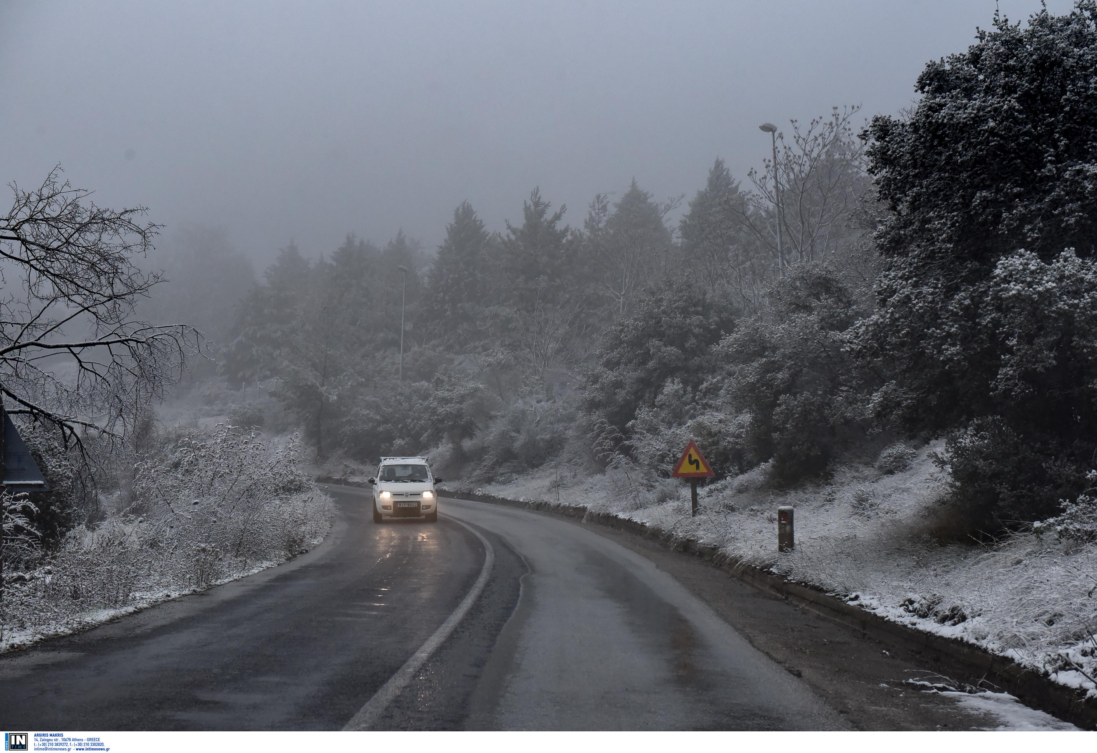 Χιονιάς... σε δύο δόσεις! Πού θα χιονίσει τις επόμενες ώρες