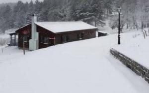 Καιρός: Χιόνια, κρύο και εικόνες ειδυλλιακές! Στην κατάψυξη η Βόρεια Ελλάδα [pics, video]