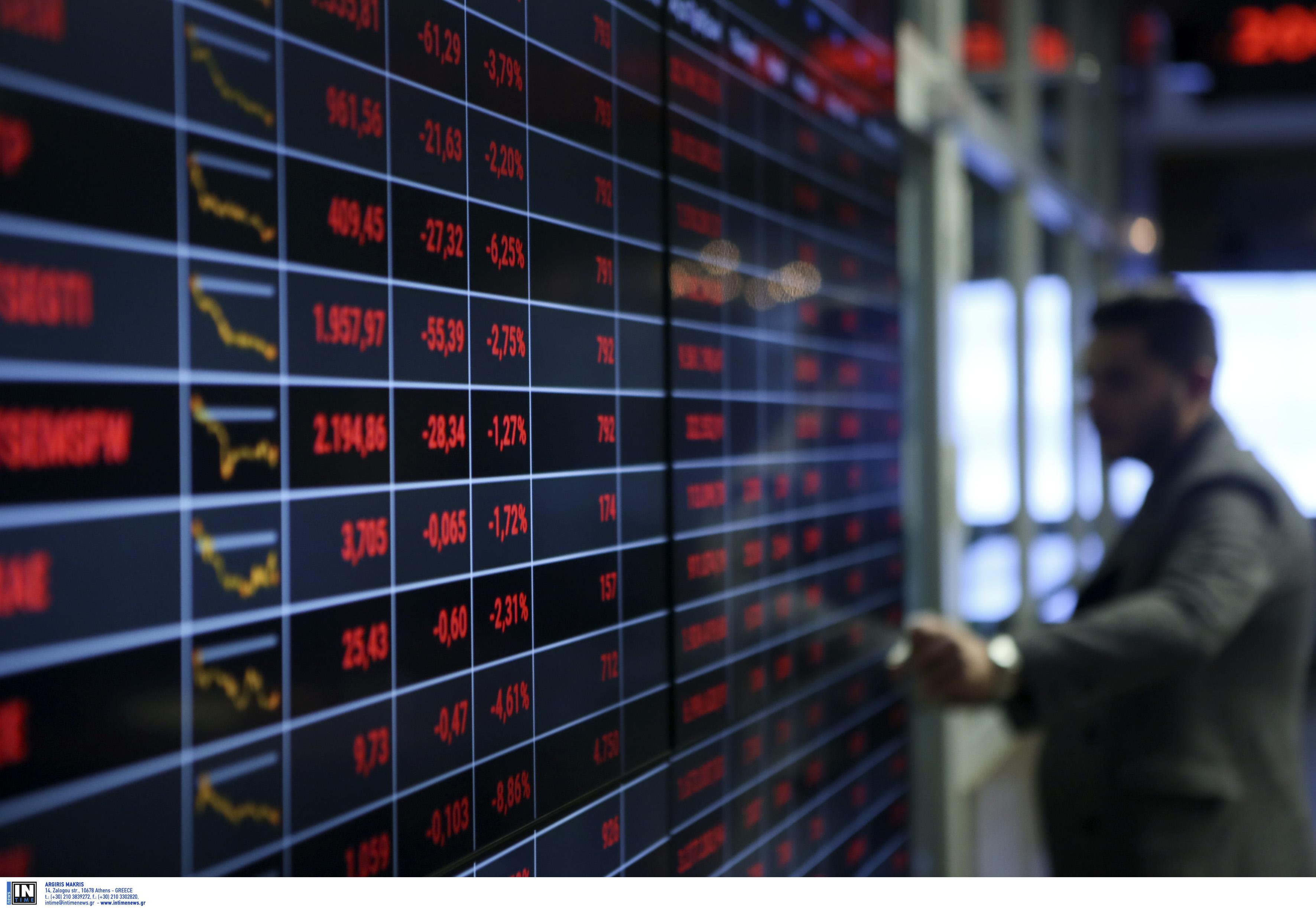 Χρηματιστήριο: Υψηλά κέρδη 3,21% στο κλείσιμο