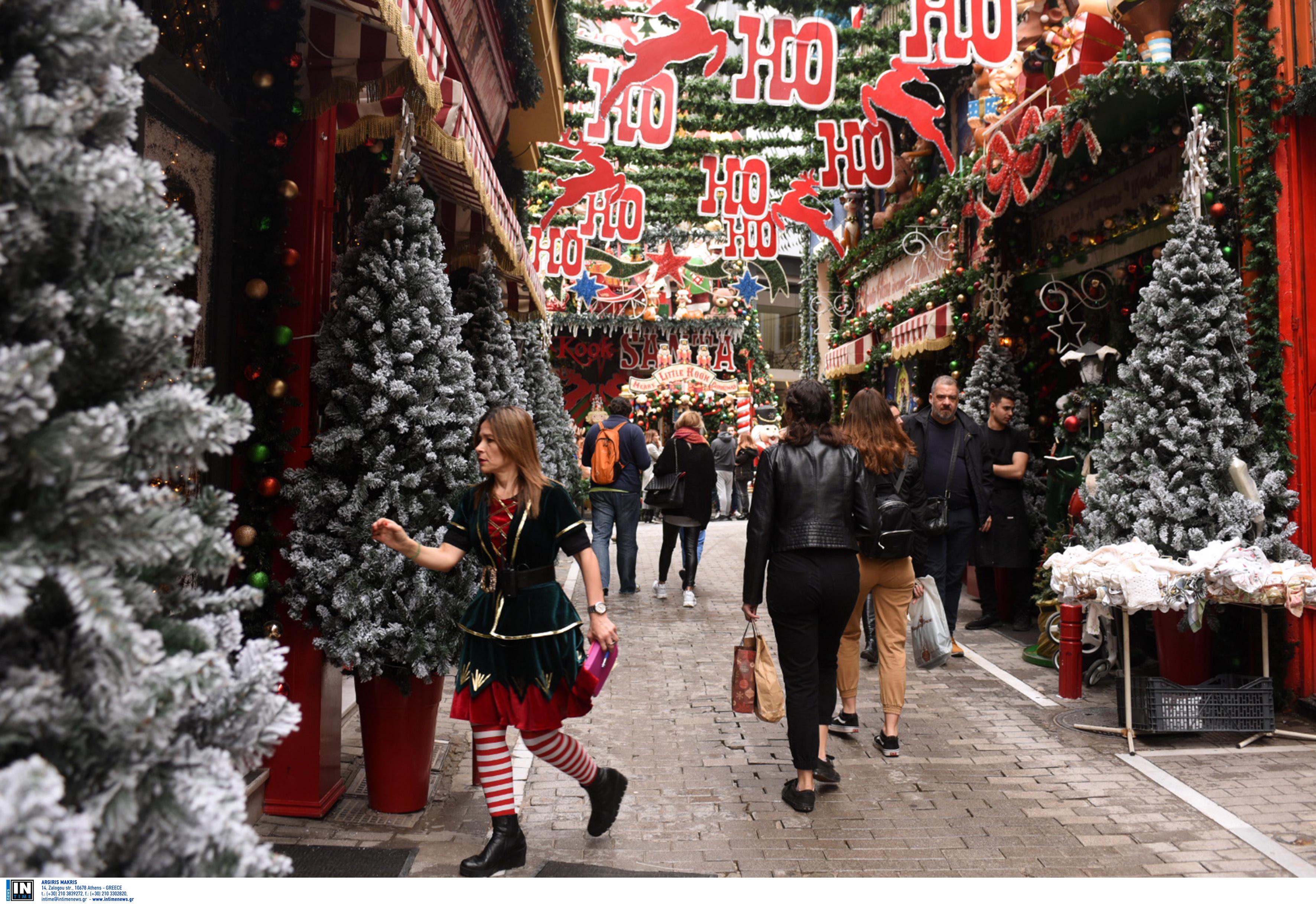 «Κλειστά» Χριστούγεννα με click away στα μαγαζιά – Δευτέρα ανοίγουν τα κομμωτήρια, έρχεται παράταση του lockdown