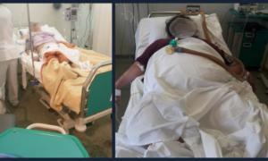 Εικόνες ντροπής στο «Αττικόν» – Διασωληνωμένοι ασθενείς αντί για ΜΕΘ νοσηλεύονται σε απλό θάλαμο [pics]