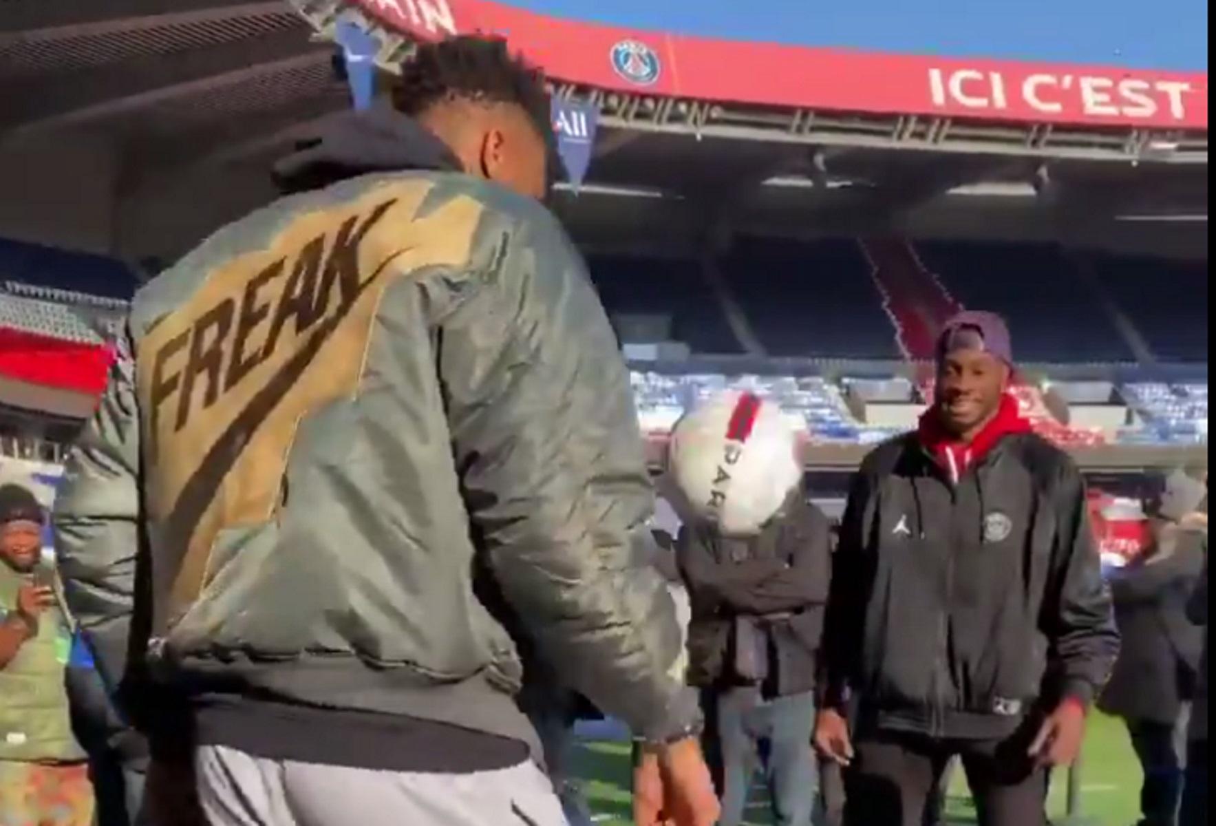 Οι Αντετοκούνbros το… έχουν και στο ποδόσφαιρο! (video)