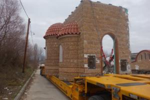 Γιάννενα: Έτσι στήνεται η πρώτη εκκλησία για τον Άγιο Παϊσιο! Η προκάτ κατασκευή στην Κιάφα [video]