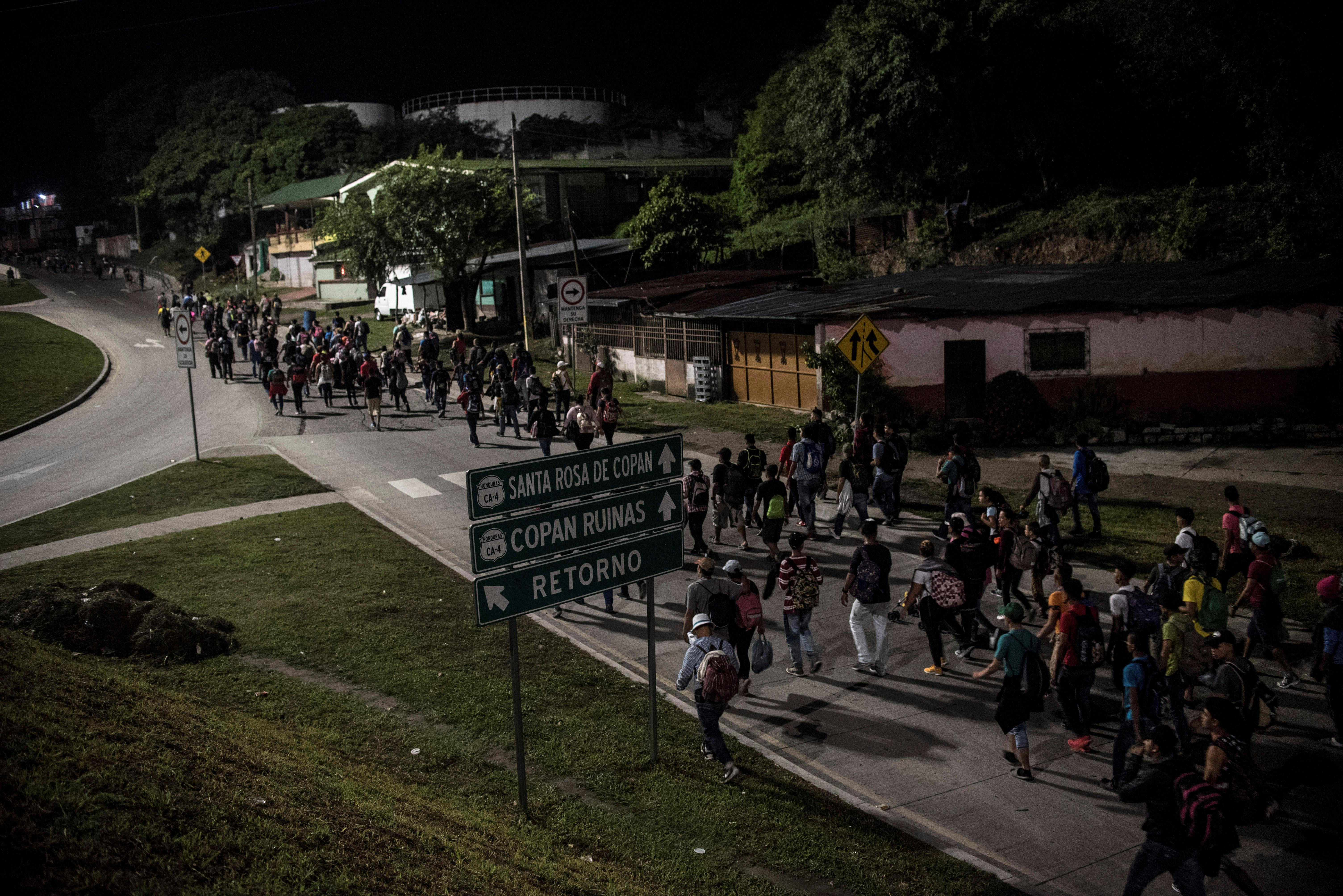 Νέο καραβάνι από την Ονδούρα προς τις ΗΠΑ! Δεν θα περάσουν λέει το Μεξικό
