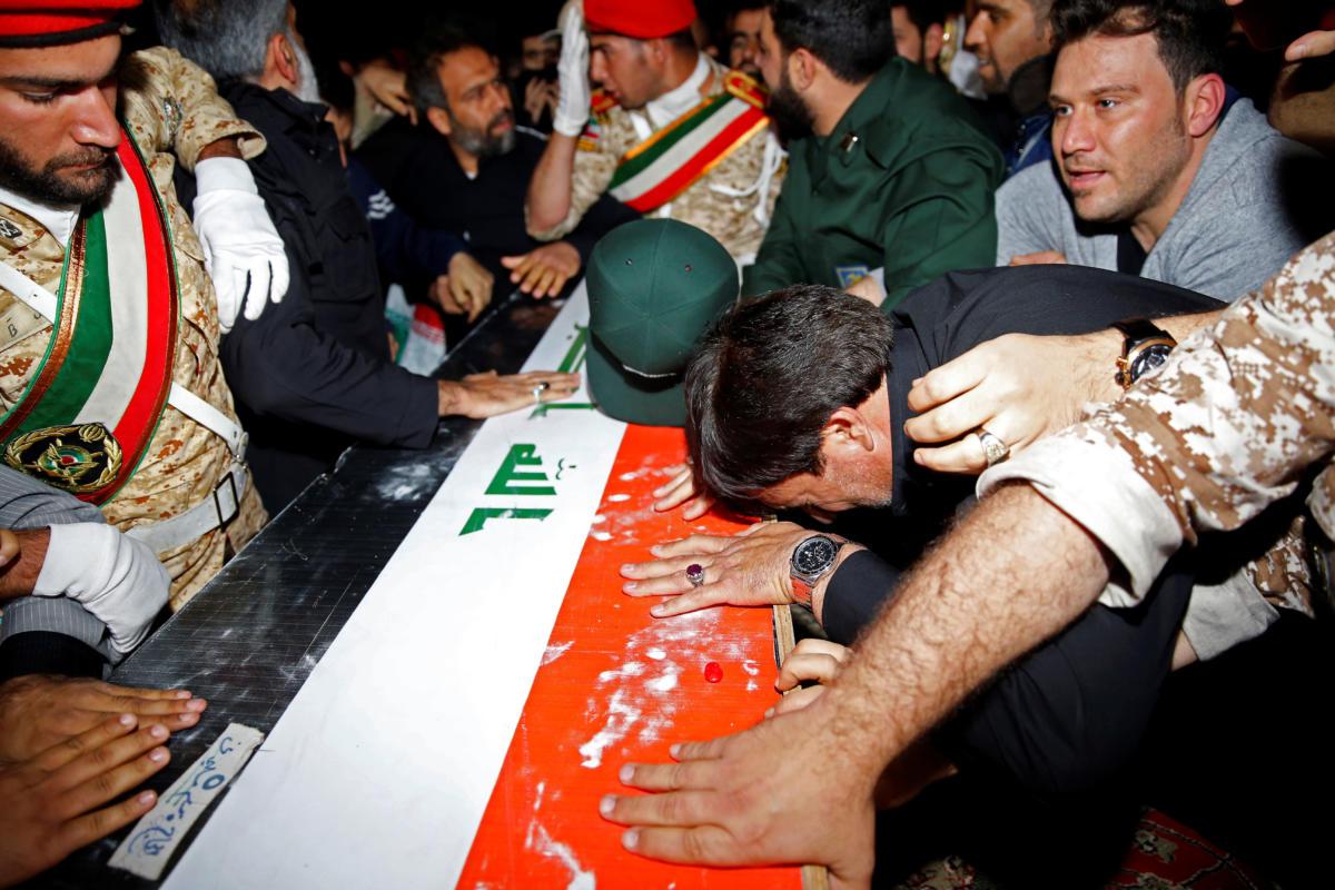 Ιράν - κηδεία Σουλεϊμανί