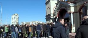 Νεκρός οπαδός: Θρήνος στην κηδεία! Στεφάνια από βουλγαρικές ομάδες και τον Αρη [video]
