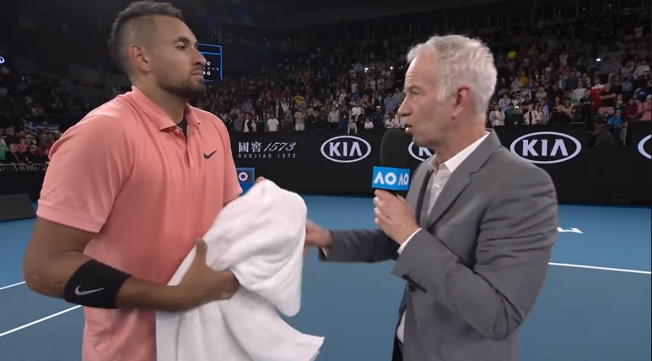 Australian Open: Ο Μάκενρο δίνει 1.000 δολάρια για κάθε κερδισμένο σετ του Κύργιου! (video)