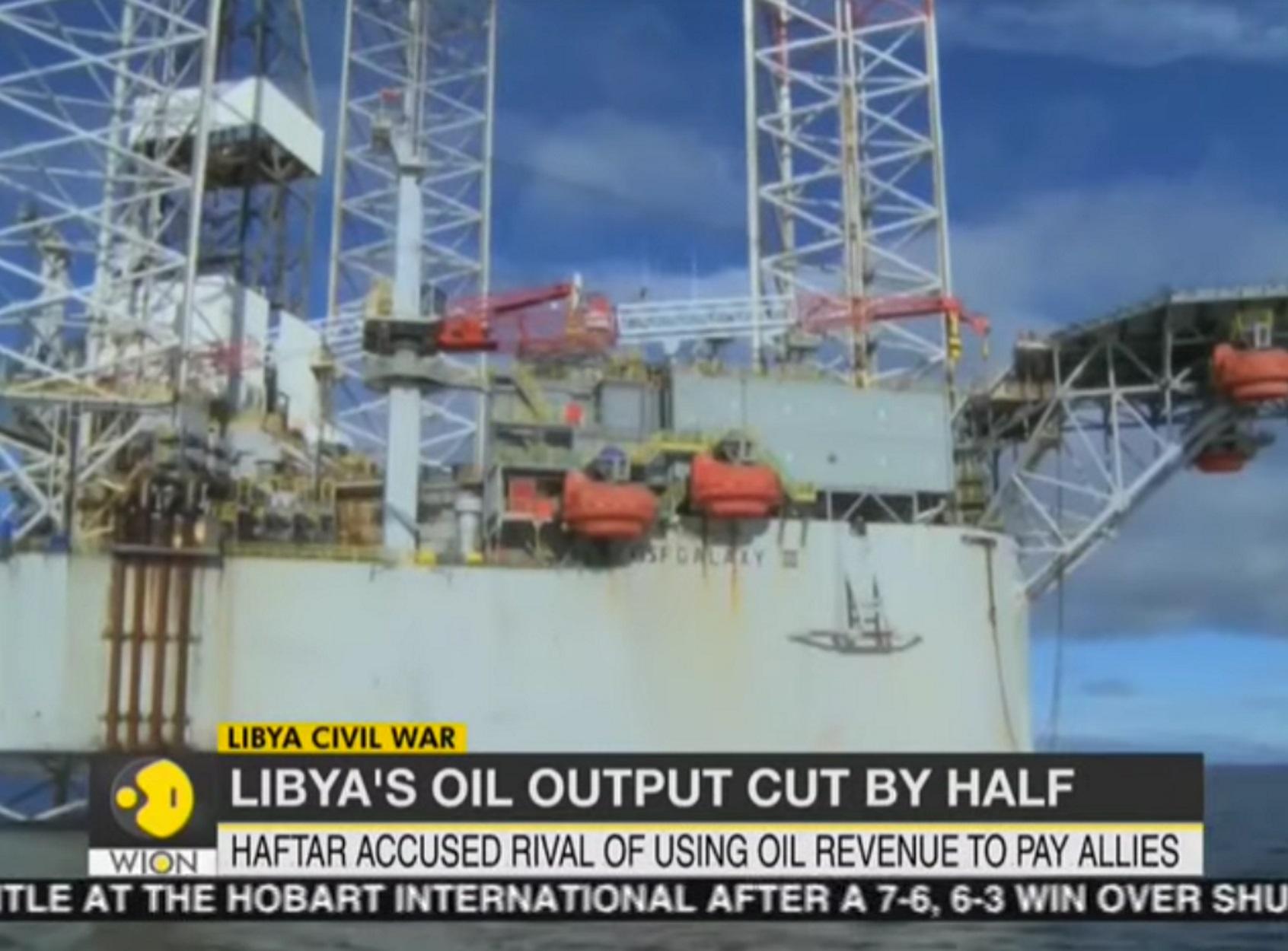 Λιβύη - πετρελαιοπηγές