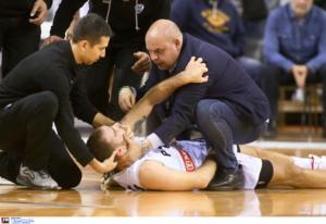 ΠΑΟΚ: Σοκαριστικός τραυματισμός του Σχίζα! Κρανιοεγκεφαλική κάκωση η πρώτη εκτίμηση [video]