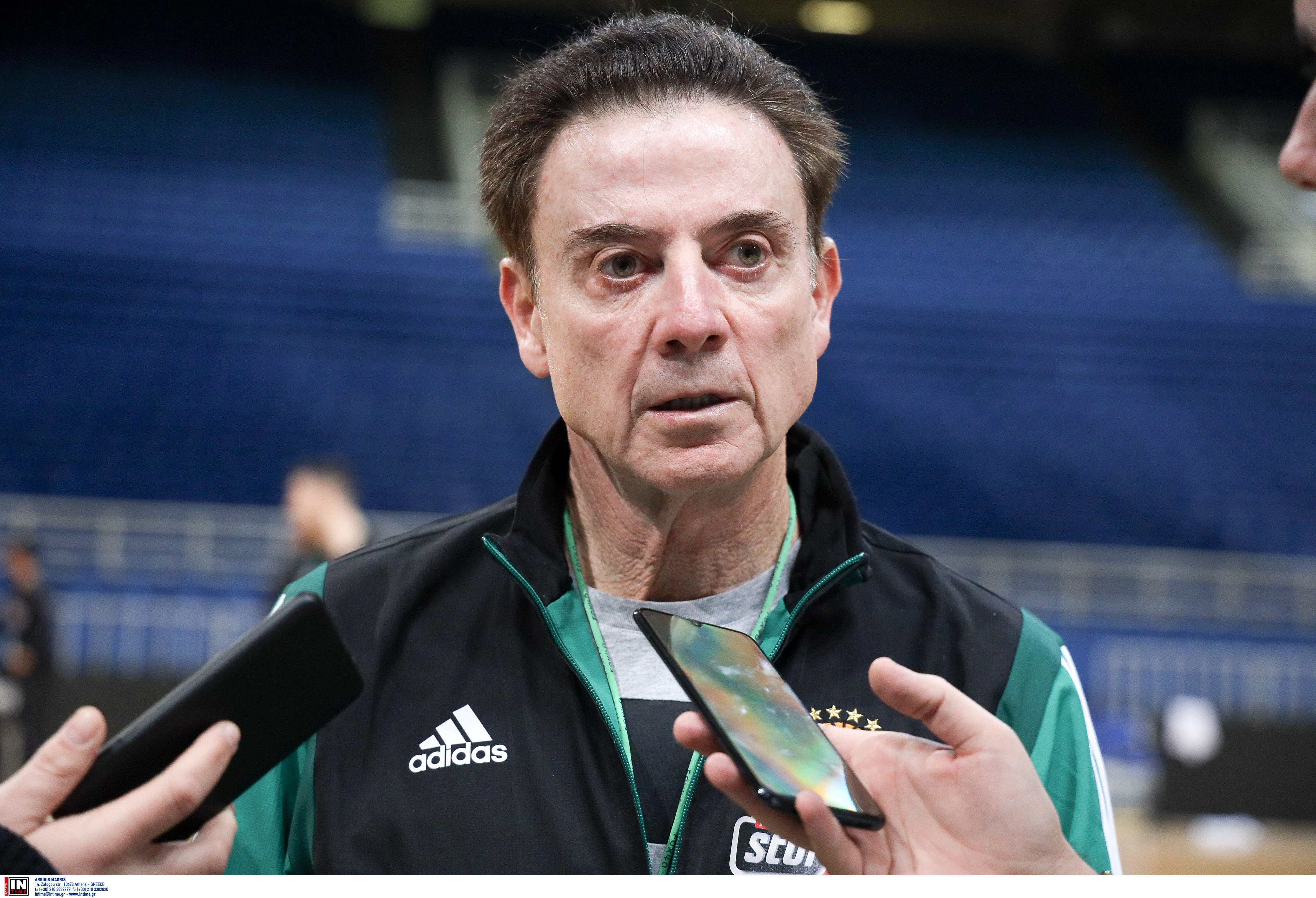 """Πιτίνο: """"Περίμενα τη διακοπή της Euroleague – Υπάρχει διαφορά στα έσοδα"""""""