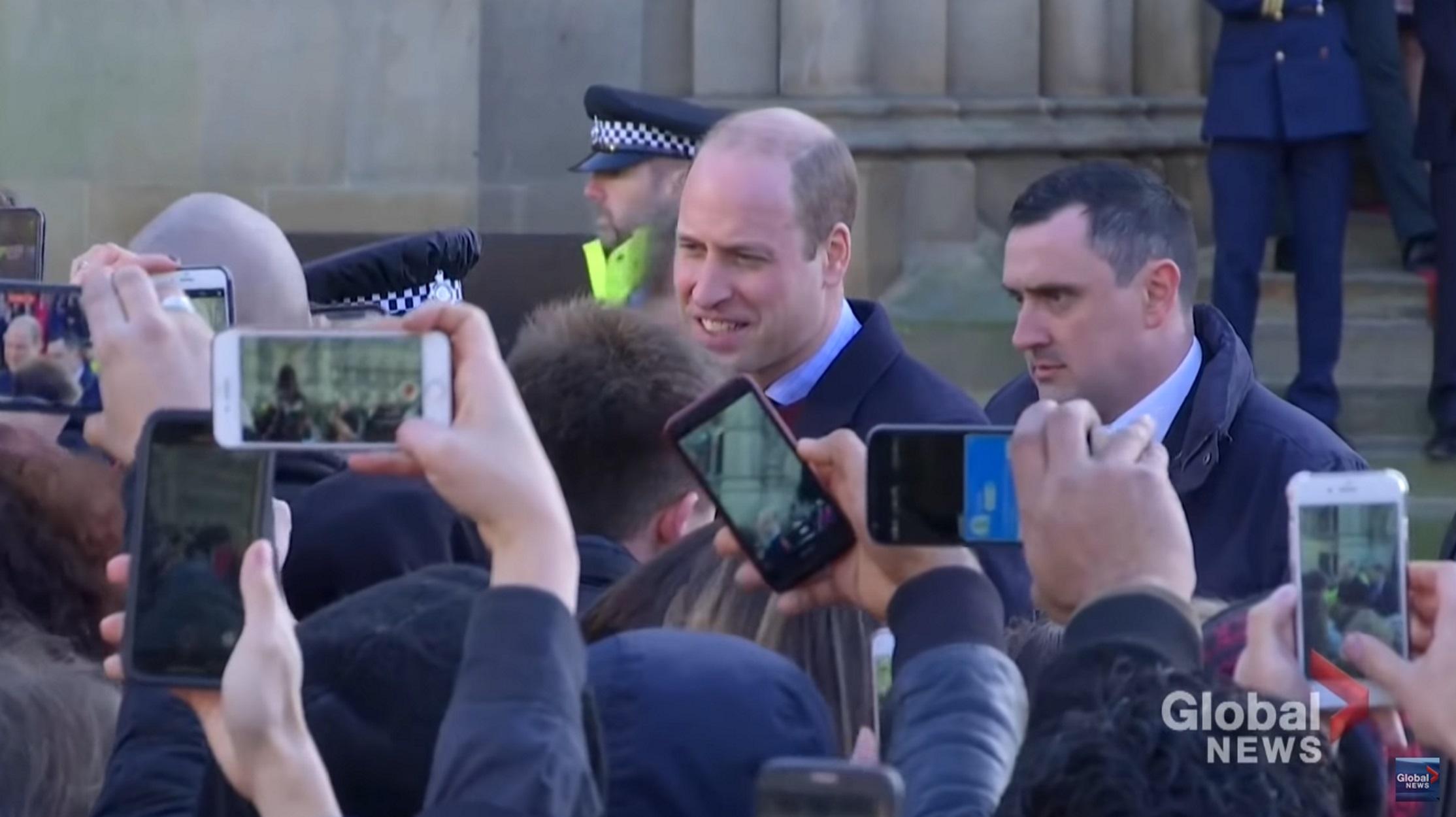 Πρίγκιπας Ουίλιαμ: Απένειμε παράσημο του Τάγματος της Βρετανικής Αυτοκρατορίας σε ράπερ