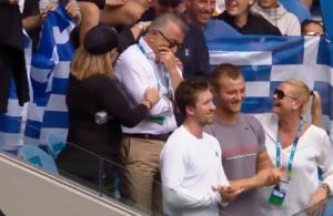 Australian Open: Συγκινημένος ο πατέρας της Σάκκαρη! Βούρκωσε με την πρόκριση – video