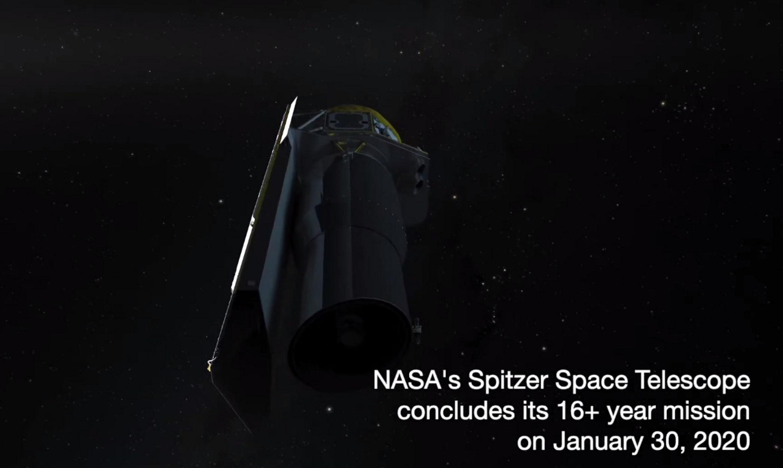 Τέλος εποχής για το υπέρυθρο διαστημικό τηλεσκόπιο Spitzer της NASA - Ανακάλυψε επτά εξωπλανήτες σαν τη Γη!