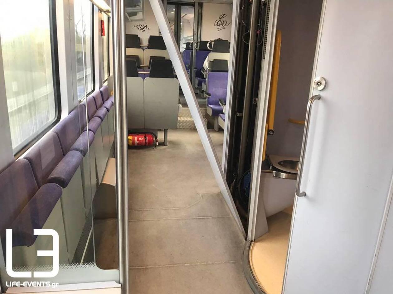 Μπήκε στην τουαλέτα του τρένου και αυτό που συνέβη θα το θυμάται για πολύ καιρό [pics]