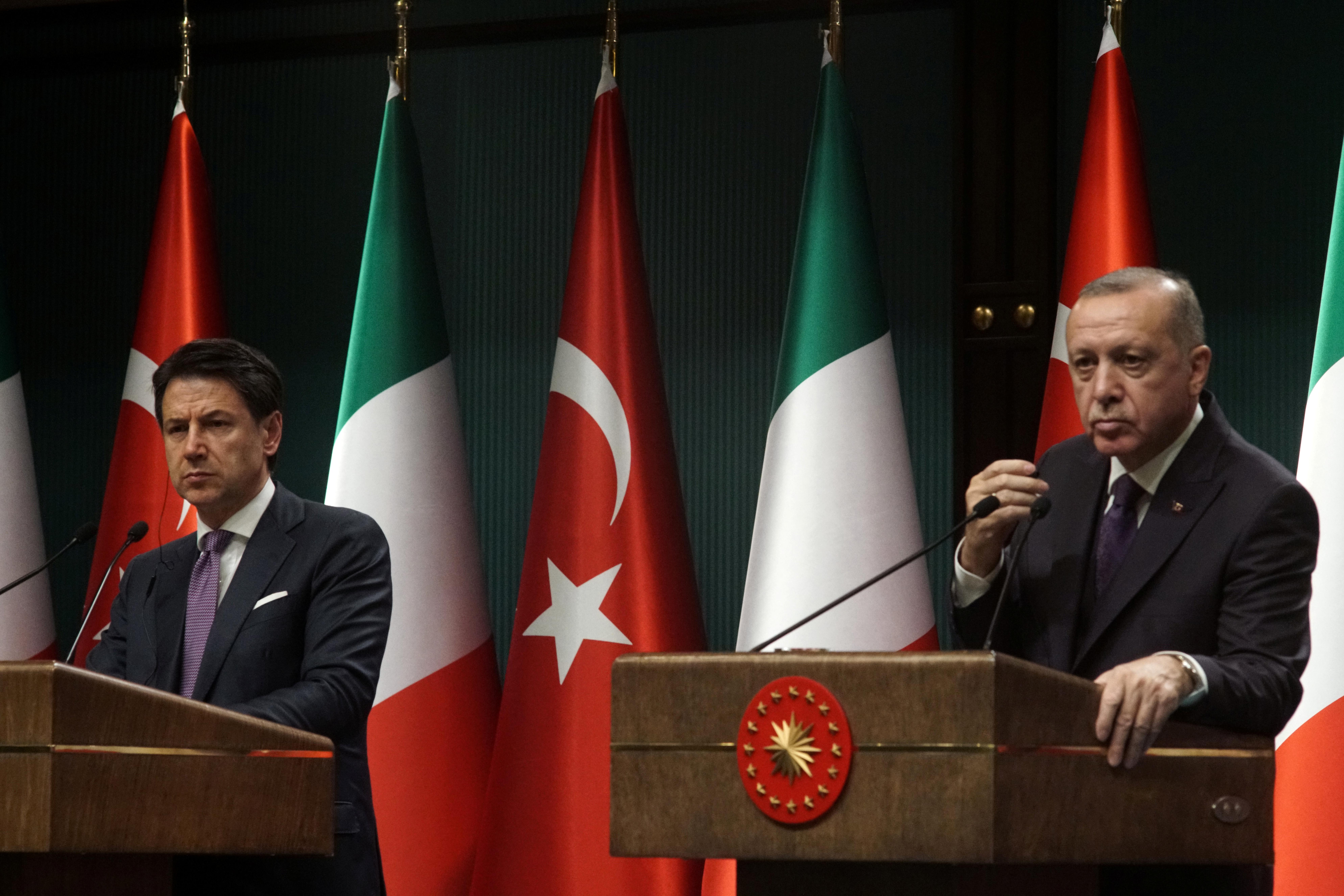 Ερντογάν - Κόντε