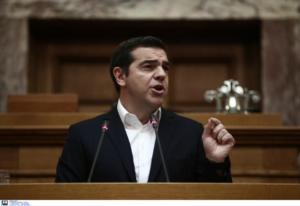 """Τσίπρας στη Βουλή: """"Η ΝΔ αλλάζει τον εκλογικό νόμο για να πάει σύντομα σε εκλογές""""!"""