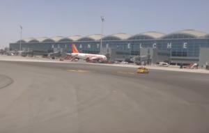 Ισπανία: Λειτουργεί και πάλι το αεροδρόμιο του Αλικάντε