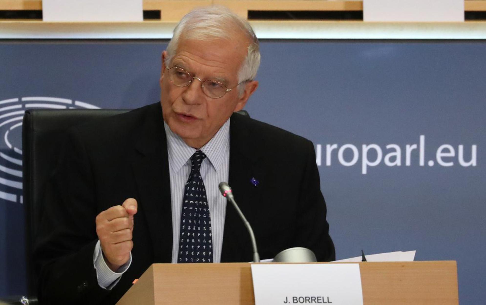 Μπορέλ: Η πειρατεία του αεροσκάφους της Ryanair και η σύλληψη Προτάσεβιτς ξεπέρασαν πολλές «κόκκινες γραμμές»