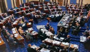 """Δεύτερο """"όχι"""" της Γερουσίας στους Δημοκρατικούς για παράδοση εγγράφων και αποδείξεων στη δίκη Τραμπ"""