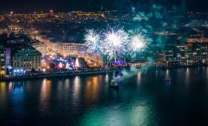 Θεσσαλονίκη: Εκπληκτικό βίντεο από drone για την υποδοχή του 2020! Έτσι γιόρτασαν την αλλαγή του χρόνου