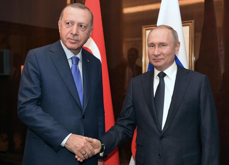 Διάσκεψη του Βερολίνου: Συνάντηση Πούτιν και Ερντογάν πριν την σύνοδο
