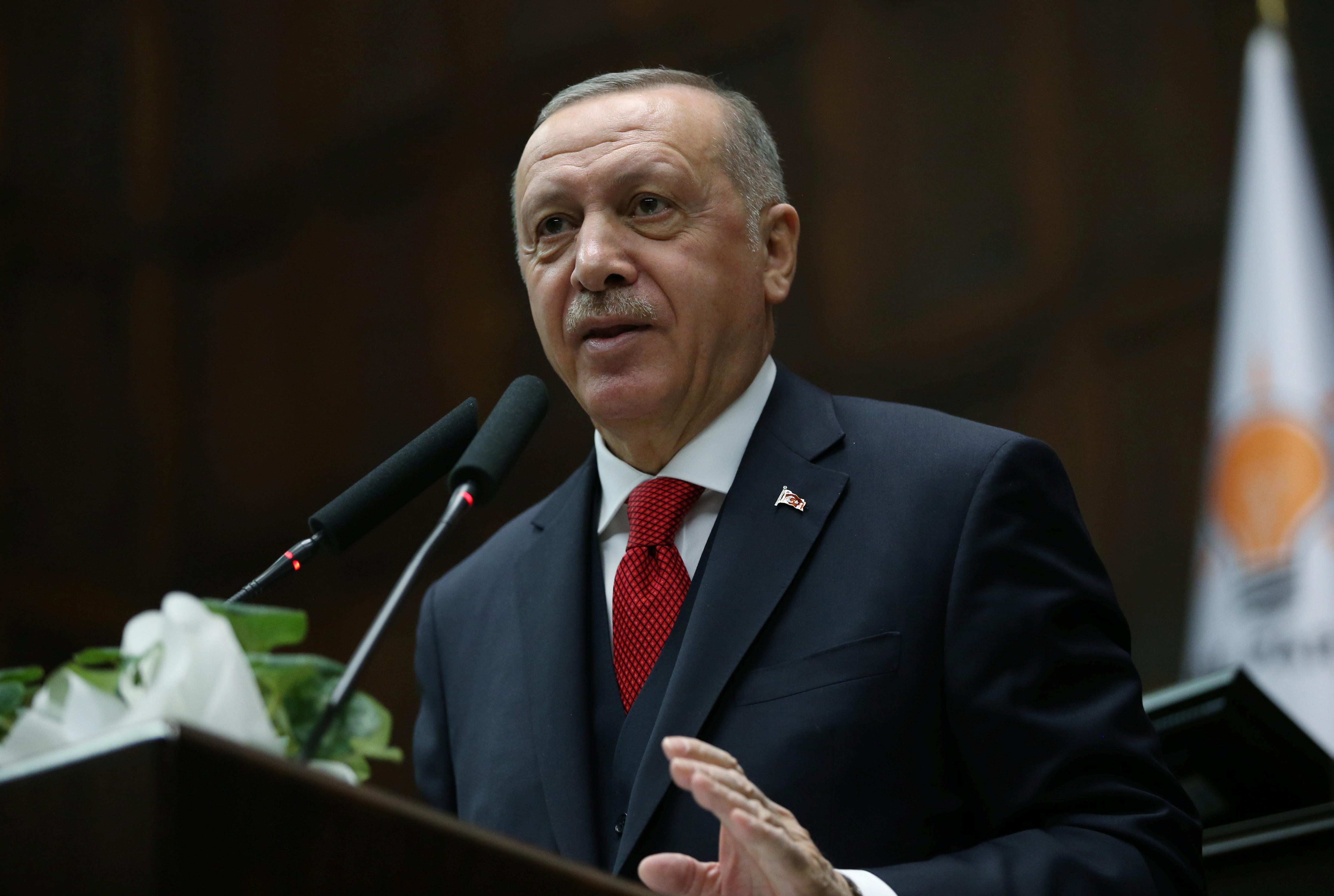 """Αντιδρά ο Ερντογάν στο σχέδιο Τραμπ για τη Μέση Ανατολή!  """"Εντελώς απαράδεκτο"""""""
