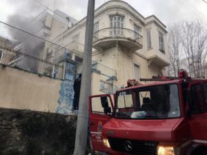 Κάηκε σπίτι στην Καβάλα, τραυματίστηκε γυναίκα