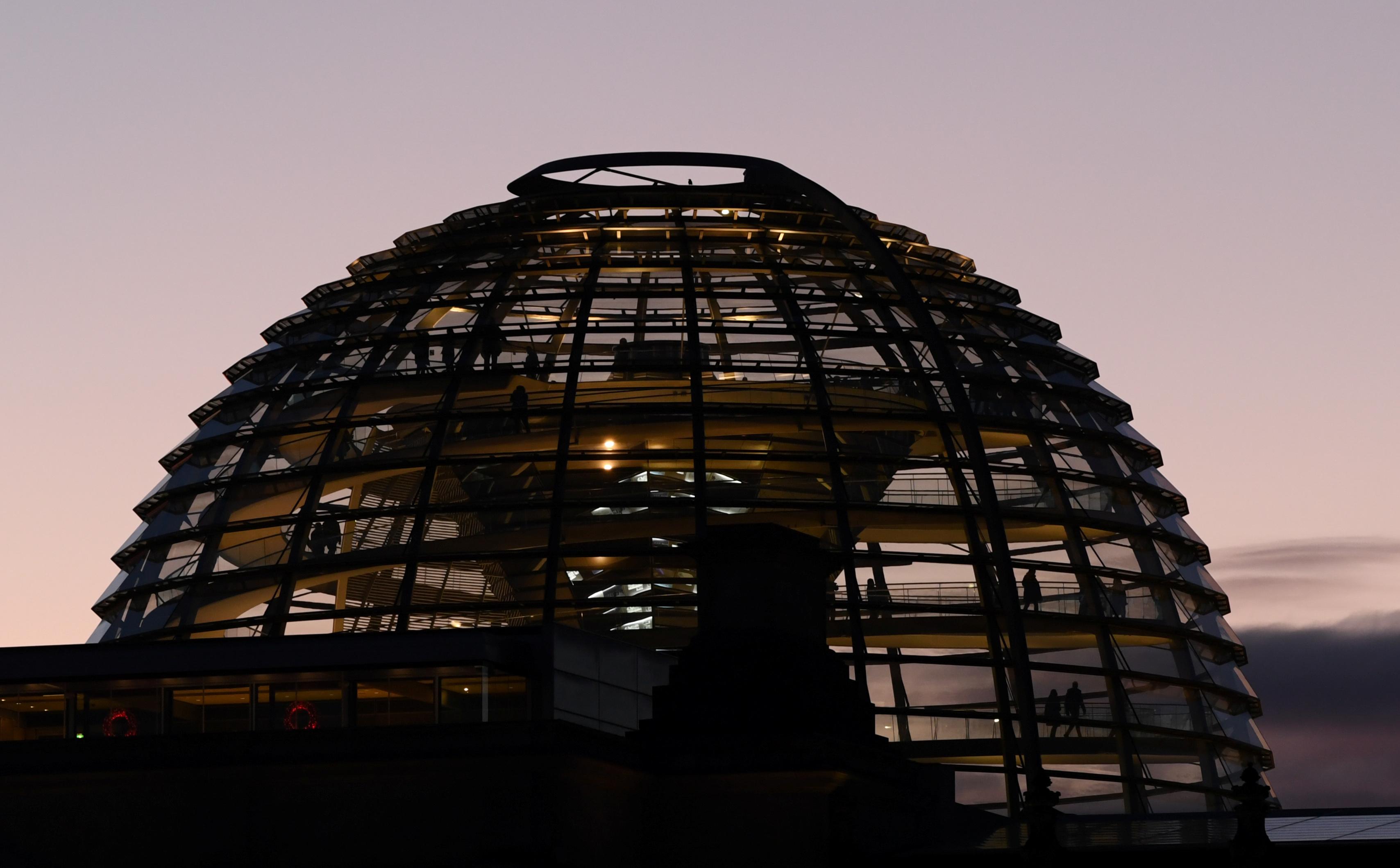 Bundestag Γερμανία